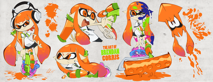 Inkling Girl Sheet by BrendanCorris