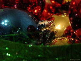 Christmas-tree decorations by Christina-Frenesia