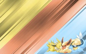 Eevee Evolutions BG by InsaneSonikkuFan