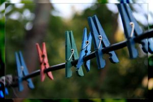 artistic laundry pliers by bogdannistor