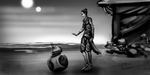 Rey and BB-8 - Star Wars (Daily Sketch Challenge) by jameslink