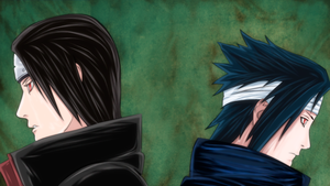 Uchiha Brothers by 18JTSG
