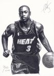 Dwyane Wade - Miami Heat by B-AGT