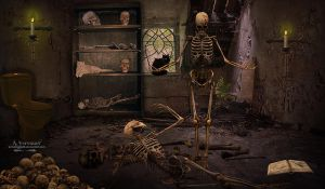 The skeleton murder by annemaria48