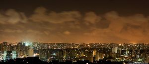 Night in Sao Paulo V by IGORLUKAS