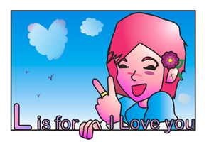 L is for I Love You by HikariM