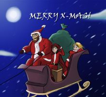 Merry X-Mas by Calick