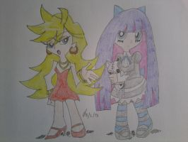 Panty and Stocking by LeMiles13