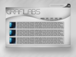 Grey labs web interfaces by Grafilabs