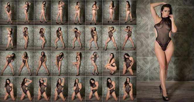 Stock: Bree Addams Sheer Lace - 33 Images by stockphotosource