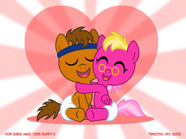 (Der) Puppy Love by Tim-Kangaroo