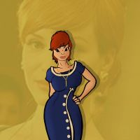 Joan Holloway from Mad Men by KayVeeAye