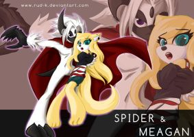 Comm : spider and meagan by Rud-K