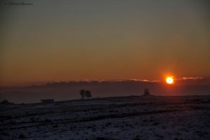 Cold sunset by ShlomitMessica