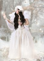 Angel Of Winter by SeventhFairy