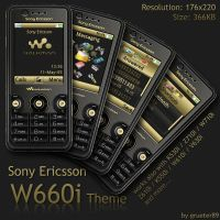 SE W660i Theme by grueter89