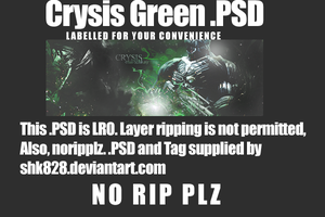 Crysis Green .PSD by shk828