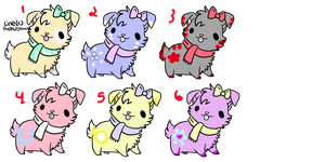 Free Dog Adoptables (Closed!) by Theanimaldrawer81604