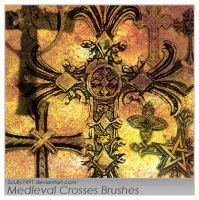Medieval Crosses Brush by Scully7491