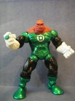 Custom Green Lantern Kilowog by cusT0M