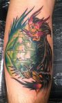 Ghost Ship Reaper by CoreyPogueTattoos