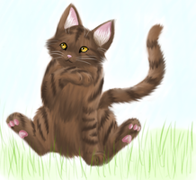 Leafpool Scribble by Tillytiger