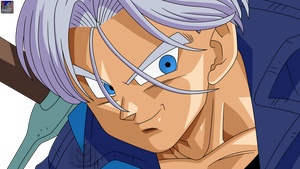 Trunks .:Lineart 59:. Color by PrinzVegeta
