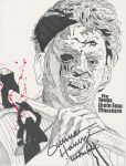 The Texas Chainsaw Massacre Signed by predator-fan