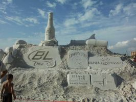 The Perfect Sandcastle by SportsLunatic
