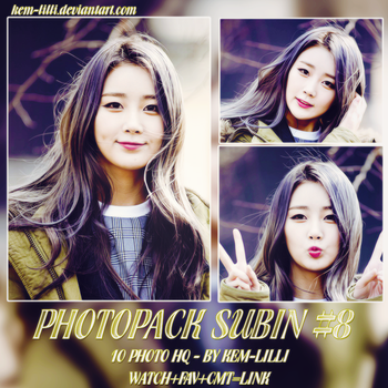 [PHOTOPACK] SUBIN OF DAL SHABET #8 by Kem-Lilli