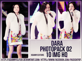 Dara (2NE1) - PHOTOPACK#02 by JeffvinyTwilight