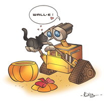 Wall-E by kiab