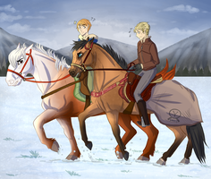 YKR |Dashin' Through The Snow | by ever-so-jAntly