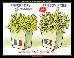 NEW U.S. CONGRESS MENU by glogauer