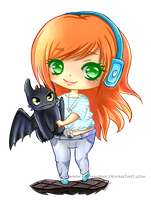 [Mini Chibi Com] for KeepYourWings by Kazhmiran