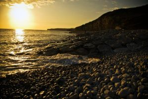 Llantwit Major Beach Landscape by JackSivyer