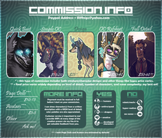 Commission Price Sheet (OUTDATED) by Riftmaw