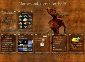 Morrowind for K800 by toyotaTRD