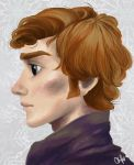 Benedict Cumberbatch Frozen Style by A-Morphine-Toast