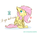 [GIF] Fluttershy!~ by SupLoLNope