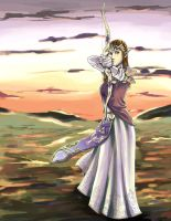 Zelda In The Twilight by Strayfish