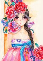 Hanbok by Princess--Ailish