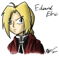 Edward Elric by KCampbell499
