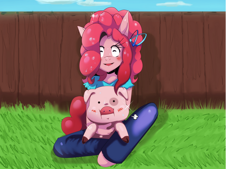 Fun with Waddles! ::MLP by Traupa