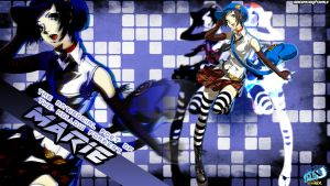 Persona 4 Arena Ultimax Marie Wallpaper by DaSenpai