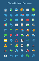 Flatastic Icon Set Part 9 by customicondesign