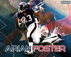 Arian Foster by R0mainT