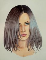 Watercolour Portrait by Pete-Tomblin