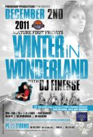 Winter In Wonderland Flyer by AnotherBcreation