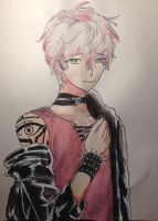 Unknown from Mystic Messenger by miladyartist